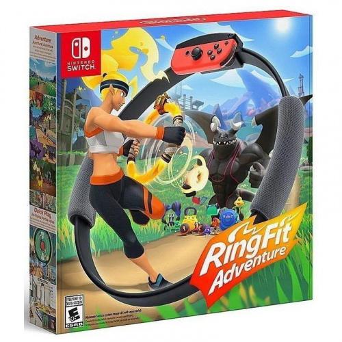 任天堂 - Switch RingFit Adventure 健身環大冒險 带遊戲套裝(平行進口)