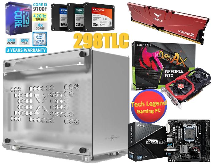 6月優惠系列iTX(A4紙尺寸大細)INTEL i3-9100F+GTX1650+8GB Ram (4核心 火線獵殺/戰爭機器5/全境封鎖2/LOL/食雞/GTA5 電競組合) 🔥🔥🔥免費送貨 + 再加送正版WIN10🔥🔥🔥