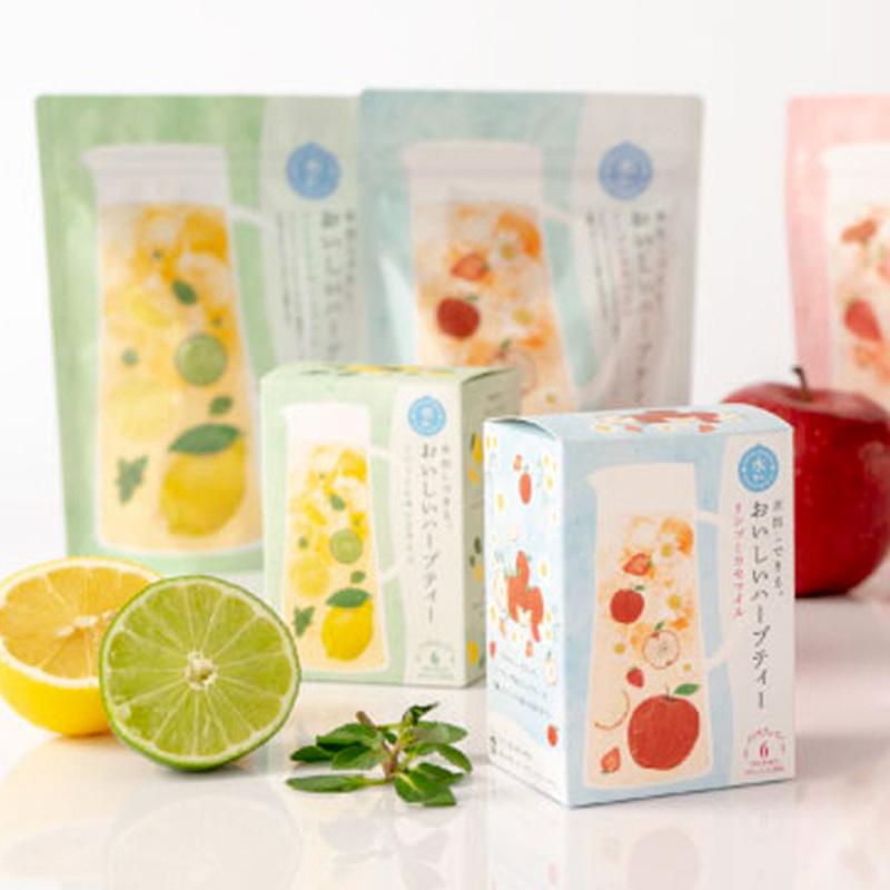 日本【生活の木】水出薄荷檸檬酸橙 零咖啡因冰茶 4gx6包【市集世界 - 日本市集】