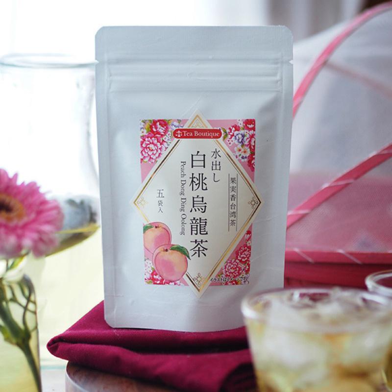 日版Tea Boutique 水出白桃烏龍冰茶 15g【市集世界 - 日本市集】