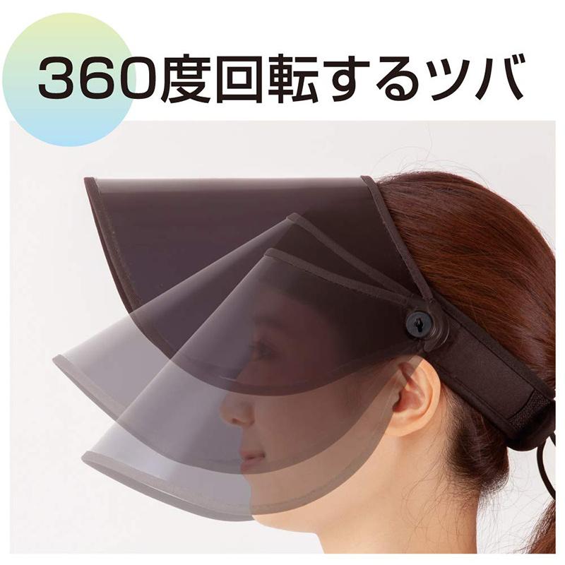 日本AQUA 98%防UV 5度涼感 水陸兩用 運動防曬太cap陽帽【市集世界 - 日本市集】