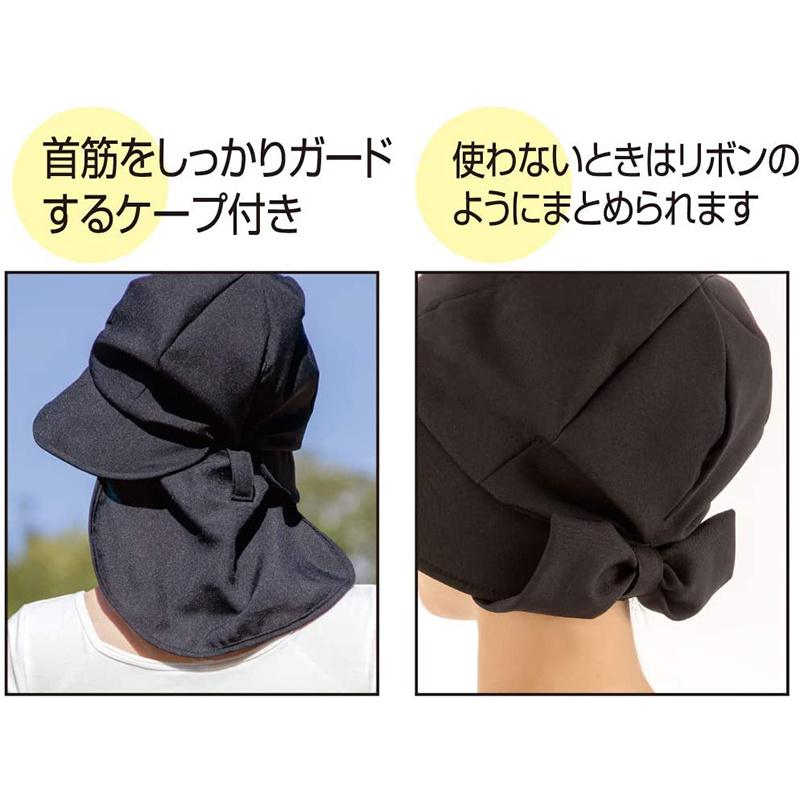 日本AQUA 99%防UV 5度涼感 水陸兩用 運動防曬帽【市集世界 - 日本市集】