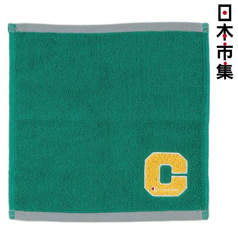 日版 Champion【綠色】運動方巾(178) 25x25cm【市集世界 - 日本市集】