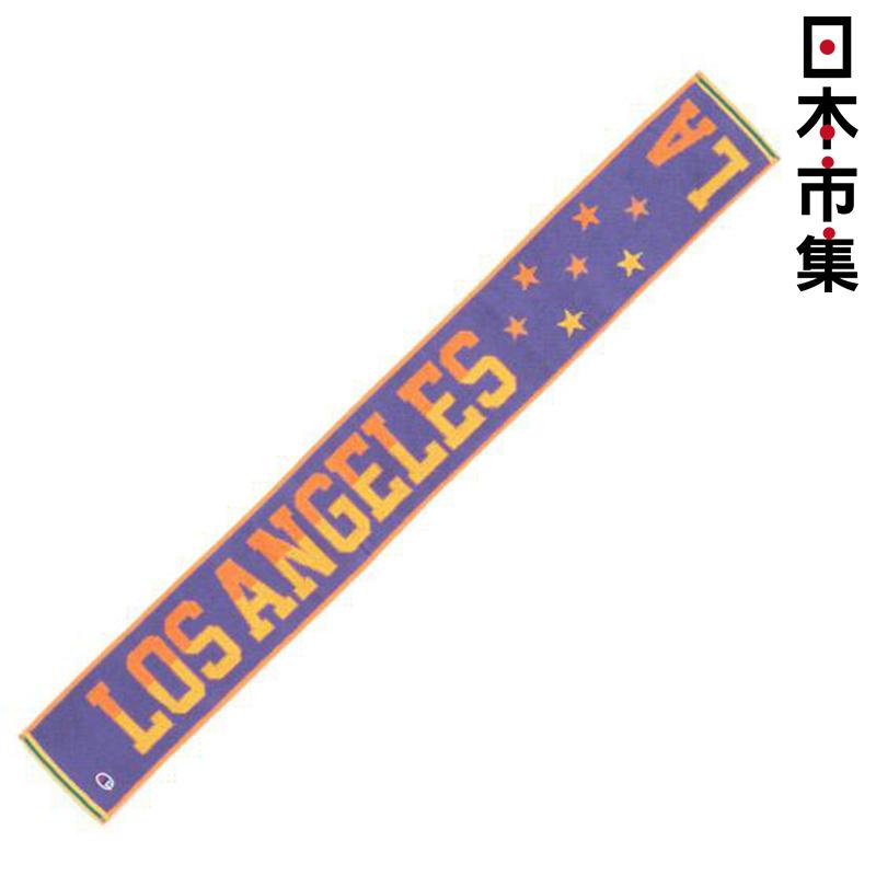 日版 Champion【LOS ANGELES】純棉運動毛巾(215) 15x120cm【市集世界 - 日本市集】