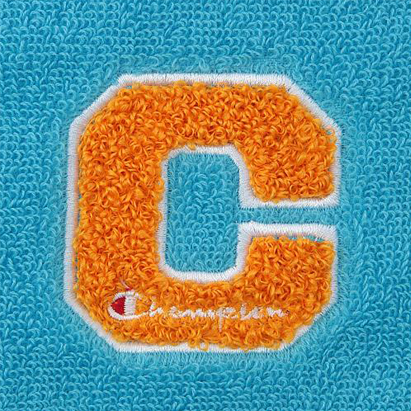 日版 Champion【天藍色 大C】純棉運動毛巾(048) 34x110cm【市集世界 - 日本市集】