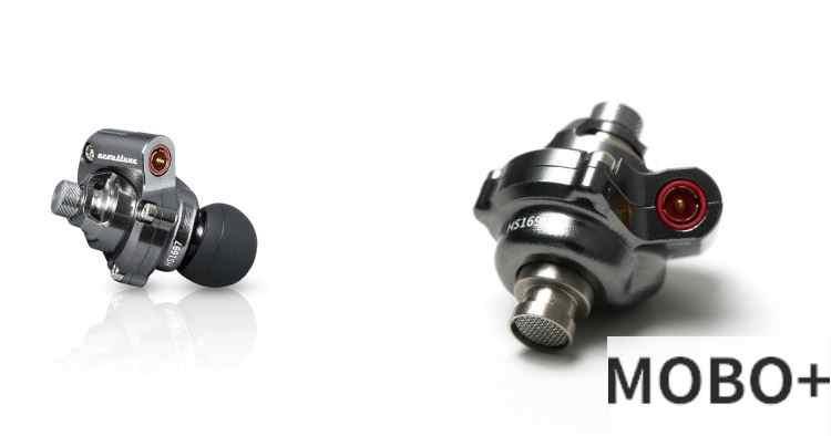 Acoustune 鈦金屬耳機 (HS1697TI) [鈦灰色]