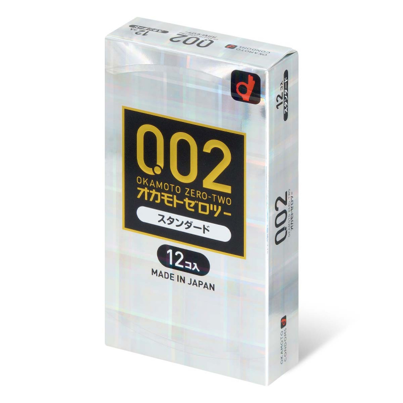 岡本 0.02 EX安全套 12片裝 (日版)