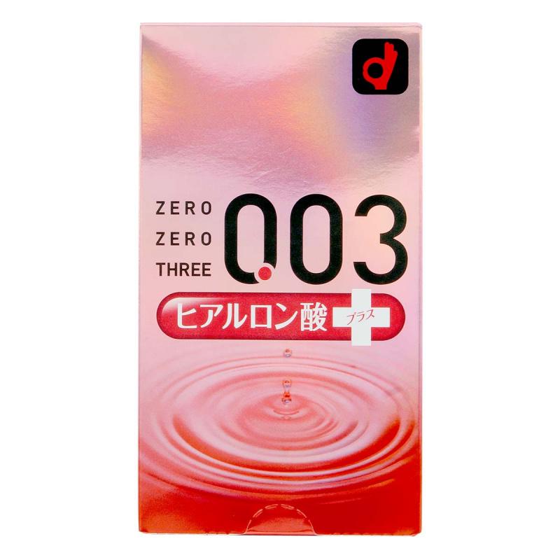 岡本 0.03 透明質酸安全套 10片裝 (日版)
