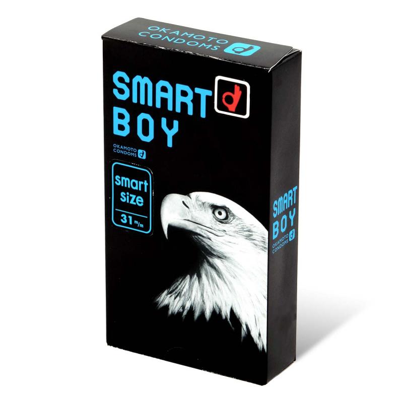 岡本 Smart Boy 細碼乳膠安全套 12片裝 (日版)