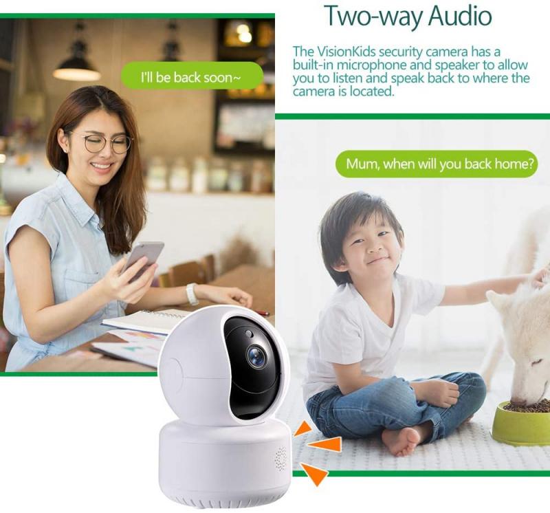 Visionkids Smart Cloud IP Camera 智能視頻嬰兒監視器