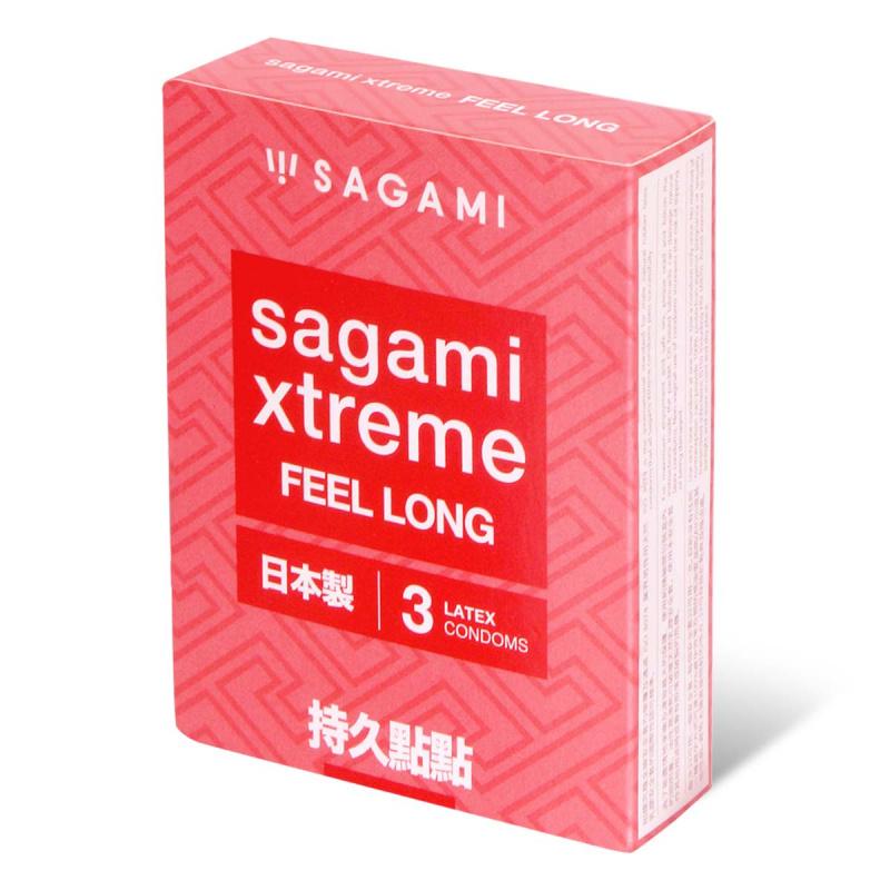 日本相模Sagami 持久點點 乳膠安全套(3片裝)