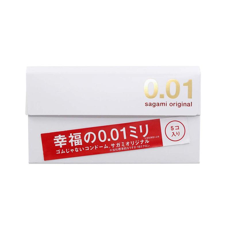 日本相模 Sagami Original 0.01安全套(5片裝)