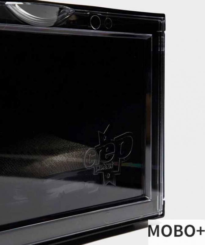 Crep Protect Crate 抗UV收納鞋盒/鞋箱 (一盒2個) [黑色]