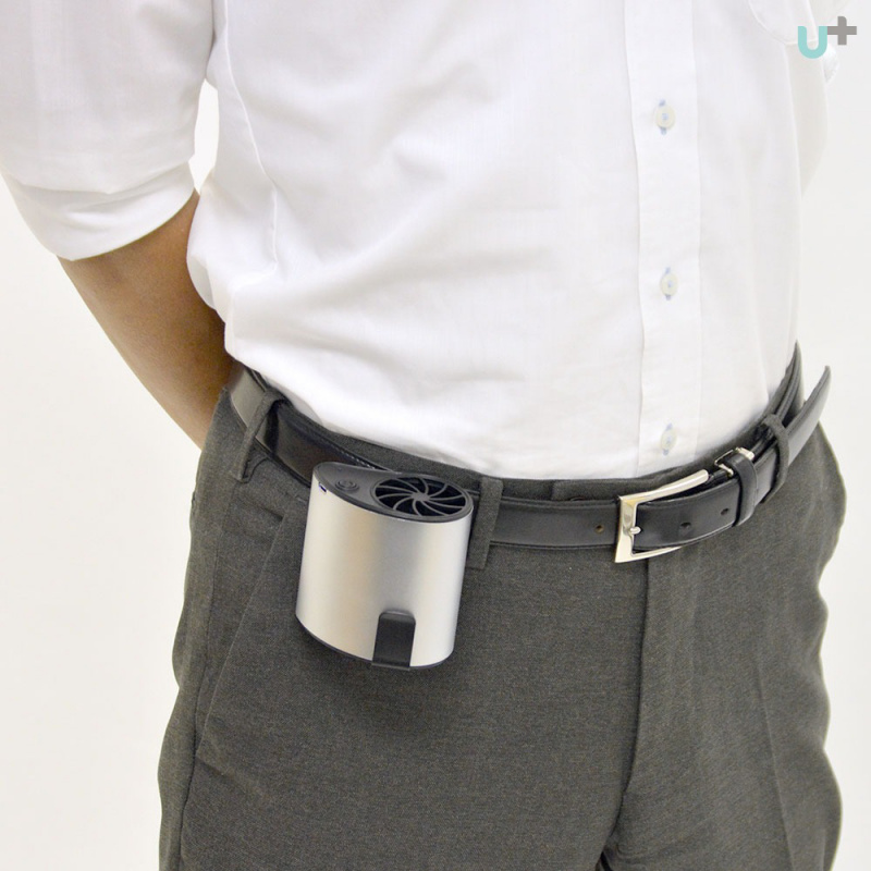 日本🇯🇵Thanko 真無線漩渦式便攜風扇 Cooling Air Man 🌬