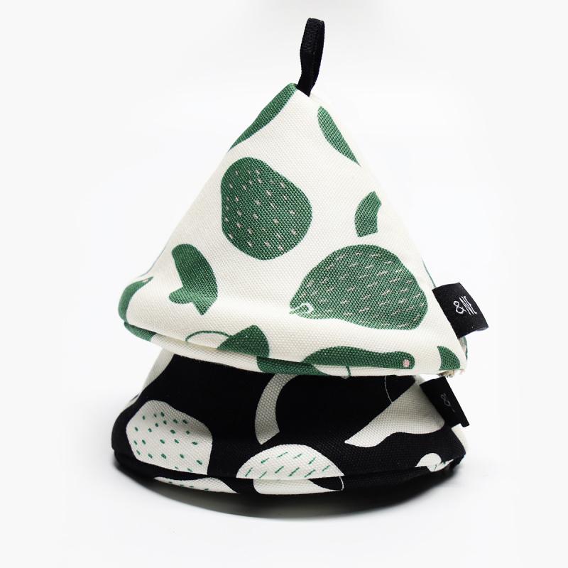 日本製造可愛迷你三角形隔熱墊
