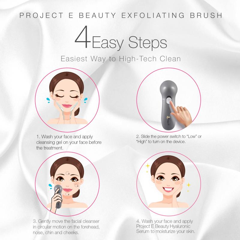 Project E Beauty 360° 旋轉深層毛孔清潔電動潔面機
