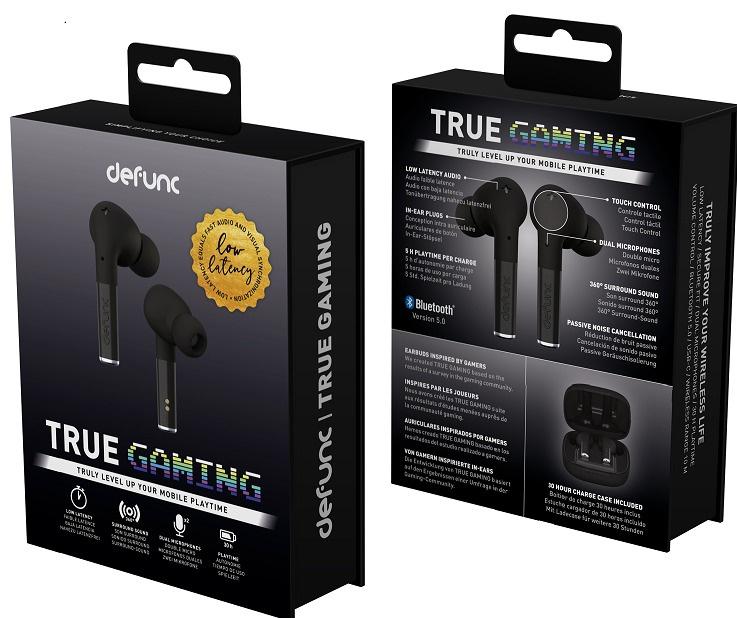 Defunc TRUE GAMING 真無線耳機 [3色]