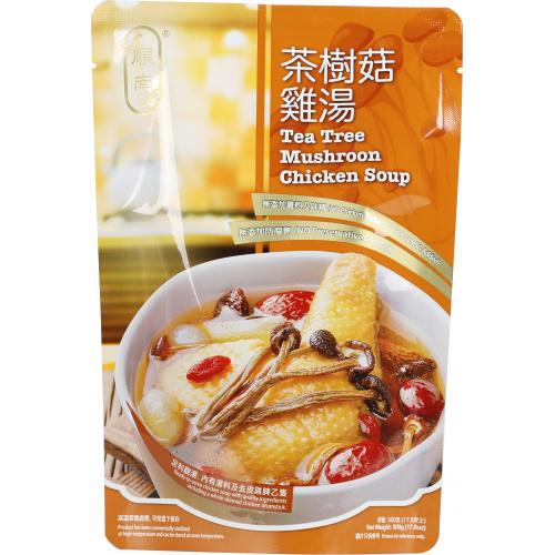 (順南)茶樹菇雞湯 (500g) [1包]