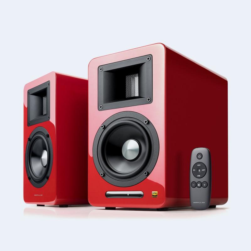 EDIFIER漫步者-無線藍牙HIFI2.0木質低音電視客廳音響 A100