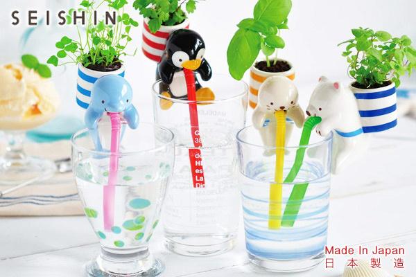 CHUPPON海洋生物種植套裝 (企鵝/野草莓)|日本製造