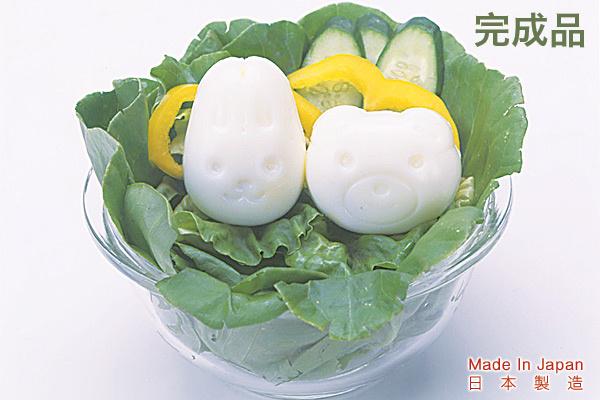 動物頭像雞蛋變形器 日本製造