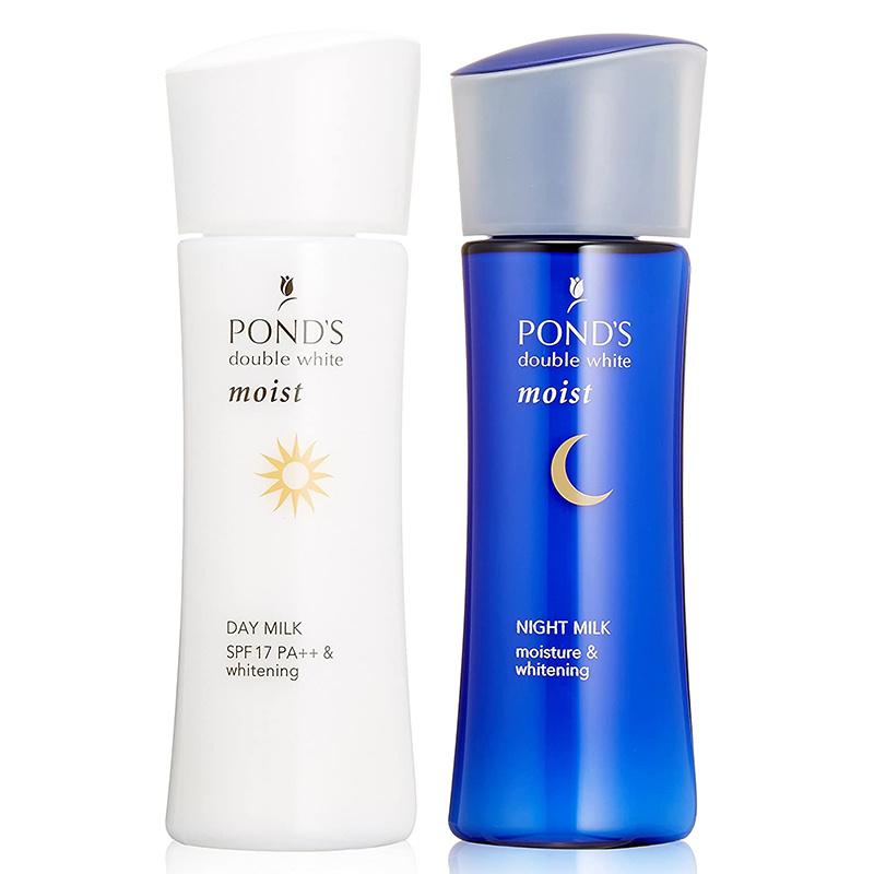 日版Pond's【美白肌】日、夜用 藥用美白乳液套裝 (70ml+70ml)【市集世界 - 日本市集】