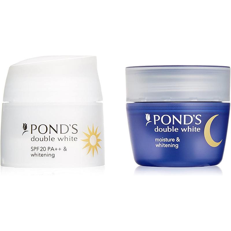 日版Pond's【美白肌】日、夜用 藥用美白精華乳套裝 (30ml+30ml)【市集世界 - 日本市集】
