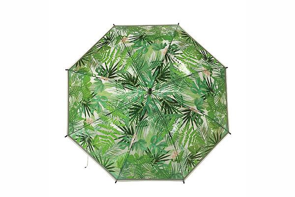 日本Happy Clear優質雨傘 (熱帶雨林)