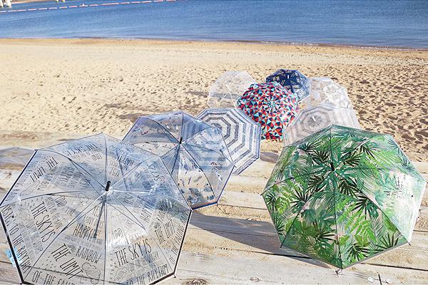 日本Happy Clear優質雨傘 (三角圖案)