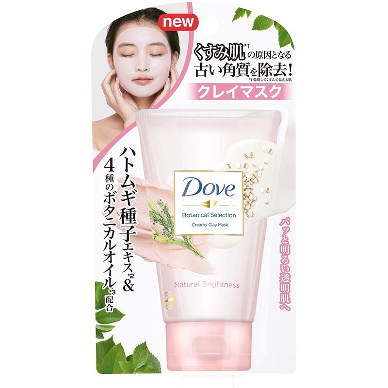 日版Dove 植物性【袪暗明亮透肌】面膜泥 120g【市集世界 - 日本市集】