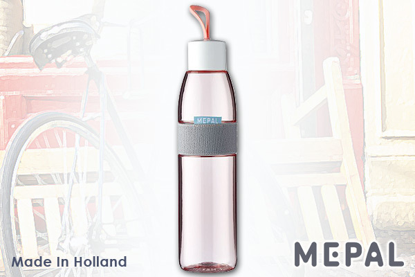 MEPAL|防漏便攜水樽 (粉紅/700ml)|荷蘭製造