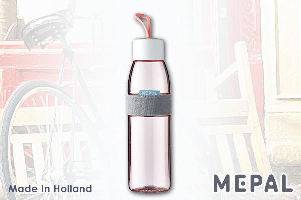 MEPAL 防漏便攜水樽 (粉紅/500ml) 荷蘭製造