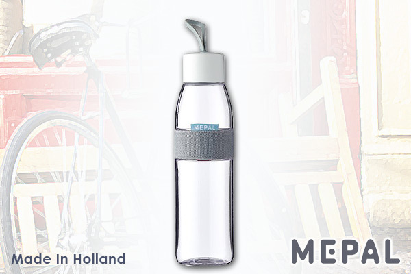 MEPAL 防漏便攜水樽 (透明/500ml) 荷蘭製造