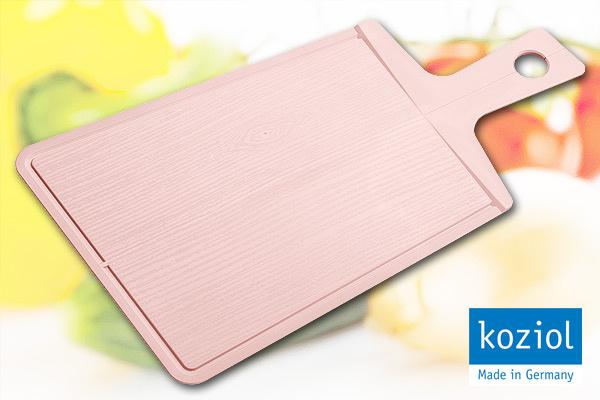 KOZIOL 優質摺合砧板 (粉紅/大) 德國製造