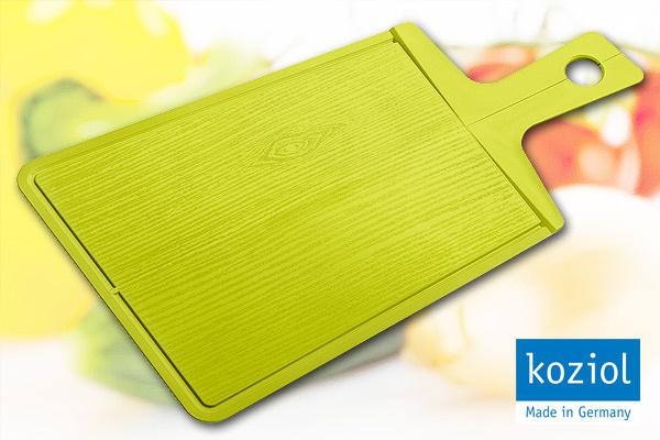 KOZIOL|優質摺合砧板 (綠/大)|德國製造