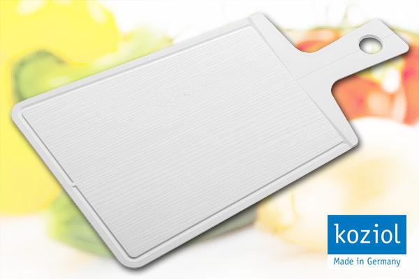 KOZIOL|優質摺合砧板 (白/大)|德國製造