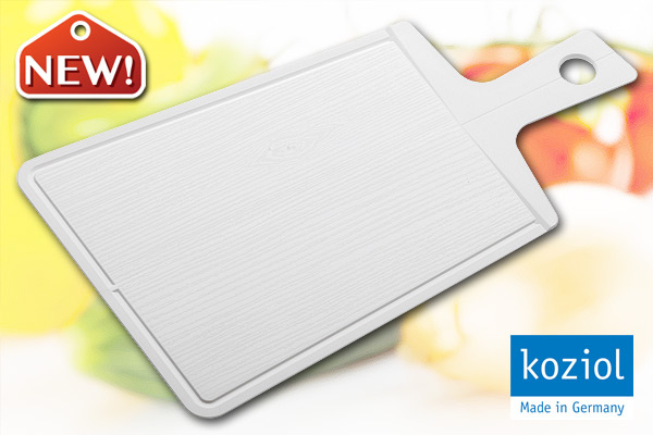 KOZIOL 優質摺合砧板 (白/大) 德國製造
