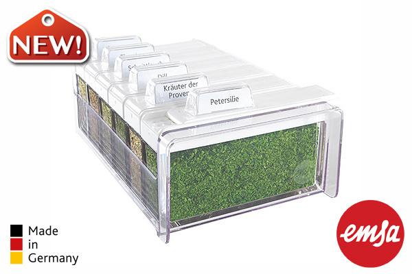 EMSA   香草系列6調味盒組 (附6種香草) 德國製造