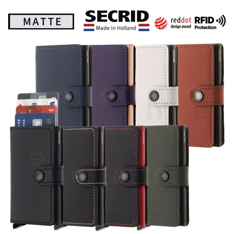 SECRID-Miniwallet-Matte