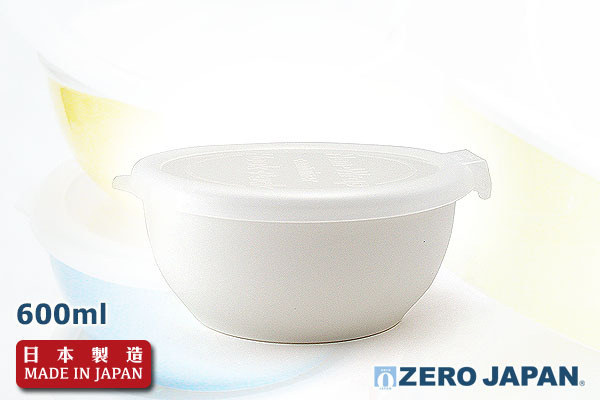ZERO JAPAN優質儲存盒 (600ml/白色)