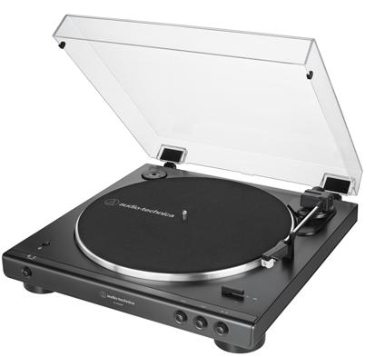 Audio Technica 藍牙無線黑膠唱盤AT-LP60XBT