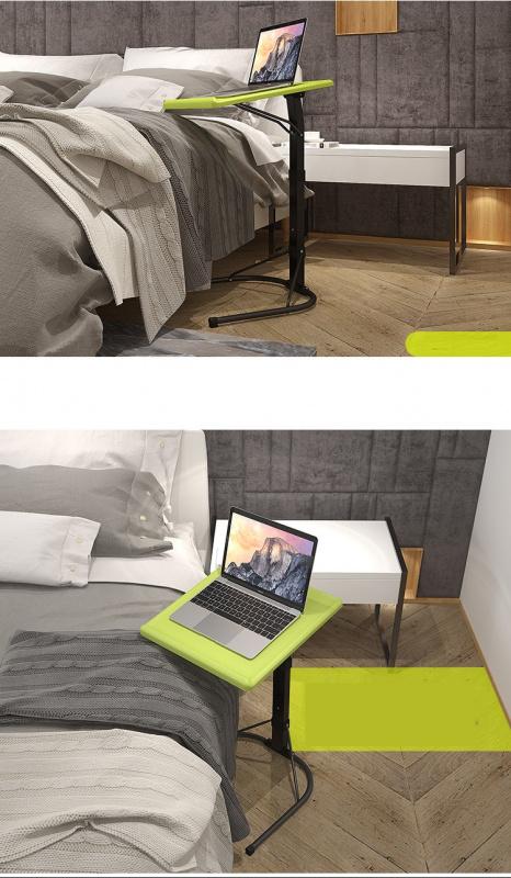 可升降Laptop Macbook 電腦移動桌 [黑色]