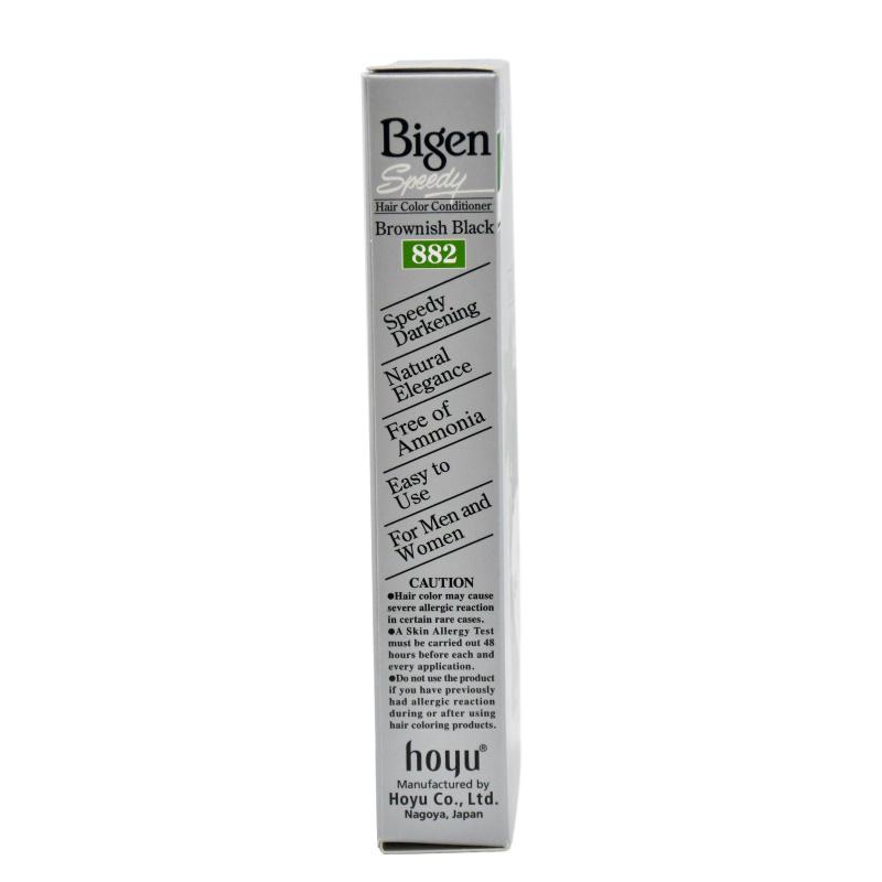 Bigen 美源髮采 黑髮霜 #882 (棕黑色)