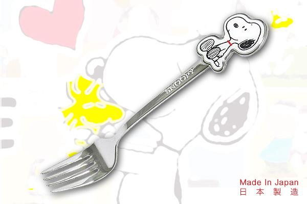 Snoopy優質餐叉 日本製造