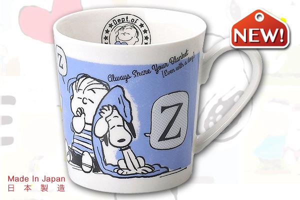 Snoopy懷舊馬克杯系列 (藍色背景)|日本製造