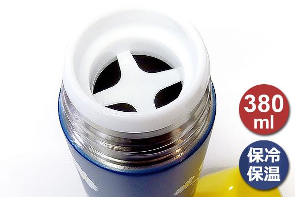 OUTDOOR色彩保溫瓶 (藍底白花/380ml)