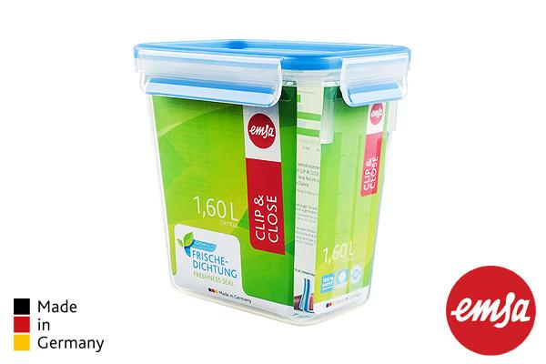 EMSA|樂鮮高身保鮮盒 (藍/1.6L)|德國製造