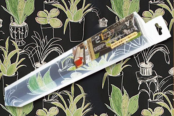 1.2m可移除牆面裝飾貼紙 (盆栽圖案/日本製造)