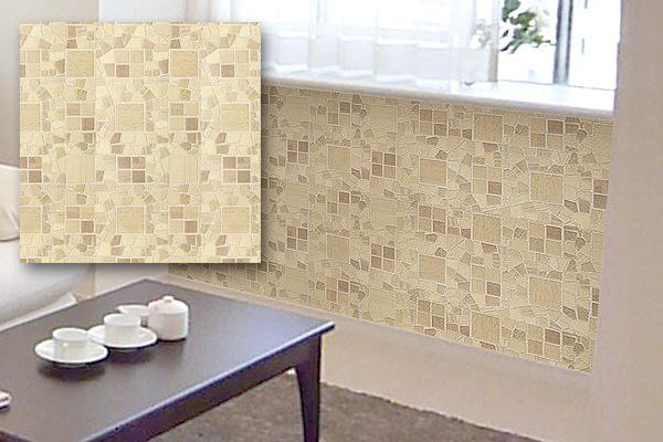 1.2m可移除牆面裝飾貼紙 (紙皮石紋/日本製造)
