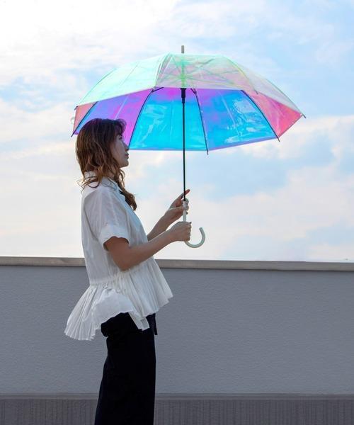 日本W.P.C 全視野透明極光雨傘